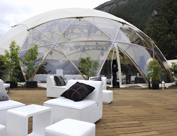 25m Geodesic Dome Hire
