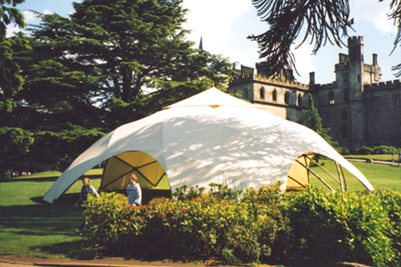 17.5m Geodesic Dome Hire