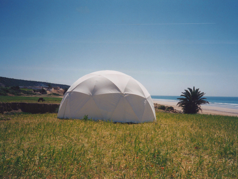 7m Geodesic Lightweight Dome Hire