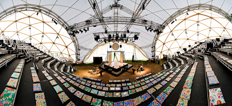 Geodesic Dome For Hire
