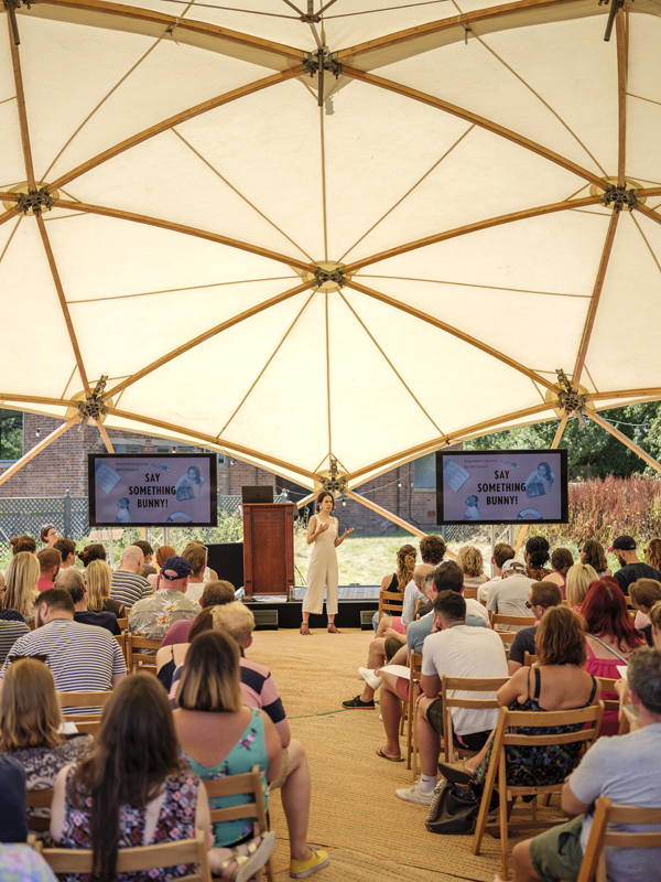 20m Geodesic Dome Hire